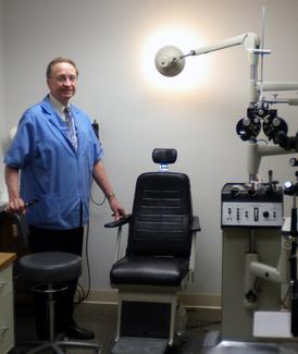Dr. Stoelting Eye Exam
